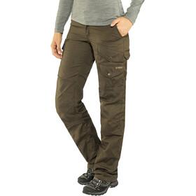 Fjällräven Barents Pro Trousers Damer, dark olive-dark olive